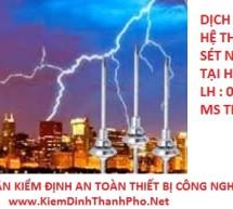 kiem dinh he thong chong set tai Ha Noi 2017 kiem chong set HN