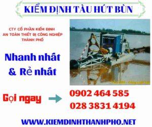 Hình ảnh kiểm định tàu hút bùn