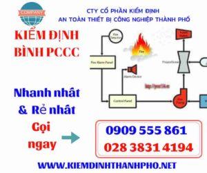 hình ảnh kiểm định bình PCCC