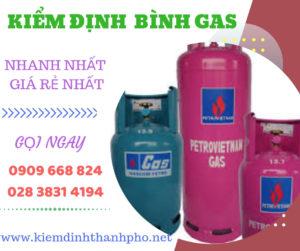 Kiểm định bình gas