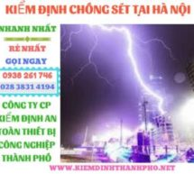 Kiểm định chống sét tại Hà Nội – Đo chống sét