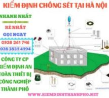 kiểm định chống sét tại Hà Nội