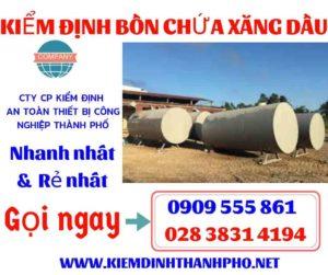 Bồn chứa xăng dầu thông dụng