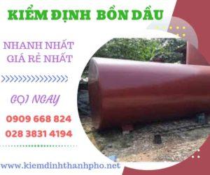 Hình ảnh Kiểm định bồn dầu