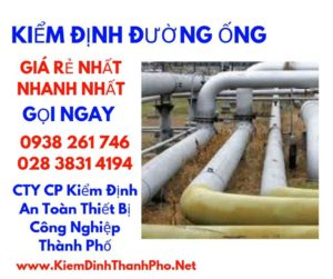 Quy trình kiểm định đường ống
