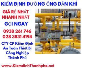 Quy chuẩn kiểm định đường ống dẫn khí