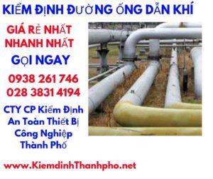 kiểm định đường ống dẫn khí