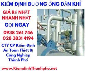 Xử lý kiểm định đường ống dẫn khí