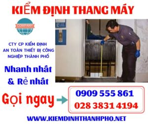 Báo giá kiểm định thang máy